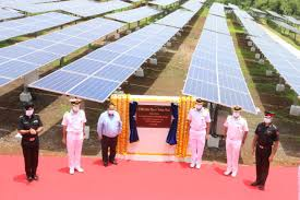 Largest Solar Power Plant of Navy Commissioned at Indian Naval ...