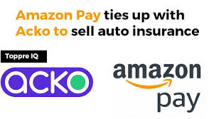 Amazon Pay collaborate with Acko to sell auto insurance - TopprsIQ