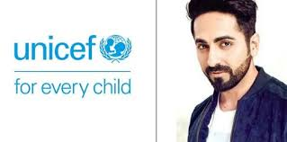 UNICEF appoints Ayushmann Khurrana as celebrity advocate for children's  rights campaign - Apeksha News