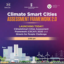 "Ministry of Housing and Urban Affairs on Twitter: ""MoS H&UA @HardeepSPuri  launched the ClimateSmart Cities Assessment Framework 2.0 and Streets for People  Challenge today. Shri DS Mishra, @Secretary_MoHUA was also present. The"