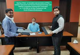 Odisha Govt signed MoU with NCDC for Promotion and Management of Farmer  Producer Organisation - Odisha Breaking News | Odisha News | Latest Odisha  News| Odisha Diary