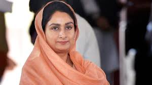 President accepts Harsimrat Kaur Badal's resignation - India News