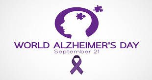 World Alzheimer's Day: 21 September