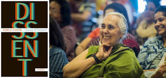 Romila Thapar's 'Voices of Dissent: An Essay' release around 19 October  2020 | South Asia Times