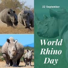 पर्यावरण एवं पारिस्थितिकी समसामियिकी 1 (22 -Sept-2020)विश्व गैंडा दिवस (World  Rhino Day)