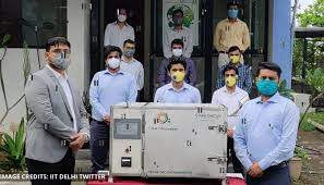 IIT Delhi incubated startup launches N95 masks decontamination device, Chakr  DeCoV - Republic World