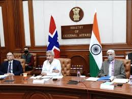 India-Norway conducts sixth session of Joint Commission Meeting