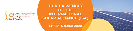 3rd General Assembly of International Solar Alliance